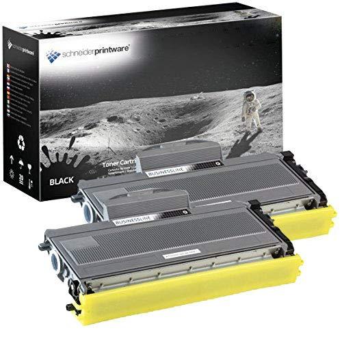2 Schneider Printware Toner je 7.800 Seiten | 200 Prozent höhere Reichweite | kompatibel zu Brother TN-2120 für Brother HL-2140 2150N 2170W MFC-7320 MFC-7440N MFC-7840W DCP-7030 DCP 7040 7045N