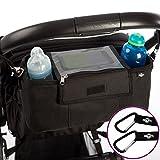 Organisateur BTR pour landau ou poussette, sac de rangement pour poussette, housse à...