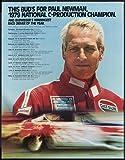 Fotografie Paul Newman Poster Race Fahrer 61 cm x 91 cm,