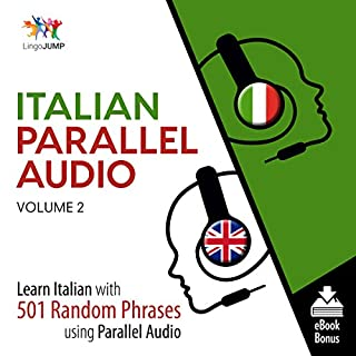 Italian Parallel Audio: Volume 2 audiobook cover art