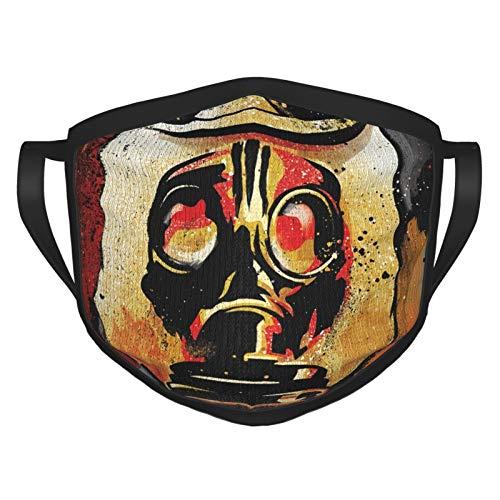 Hank Williams Iii Hillbilly Joker Outdoor Bandanas,Black Border Masks,Mouth Guard,Balaclava,Neck Gaiter Dustproof Scarf,Face Cover