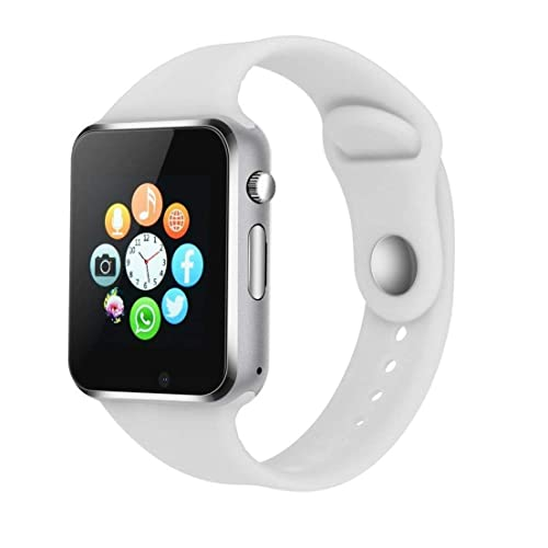 Bluetooth Smart Watch Compatible iOS iPhone Android System Qidoou Wrist Watch Camera SIM Card Sleep Monitor