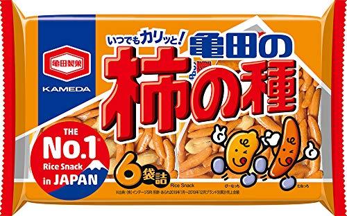亀田製菓 亀田の柿の種6袋詰 200g