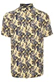 Blend Camisa de manga corta para hombre 20712356 Pale Banana (120824) M