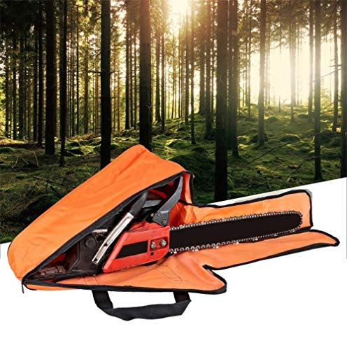 BEYST Chainsaw Carry Bag Case for Up to 16' Bar Length,Chainsaw Oxford Storage Waterproof Box with Handle(as Shown)