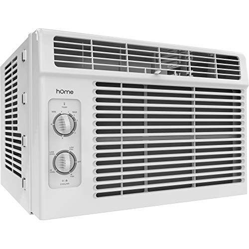 hOmeLabs 5000 BTU Window Mounted Air Conditioner - 7-Speed Window AC...
