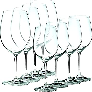 Riedel Vinum 8 Piece Chablis and Bordeaux Wine Glass Set, Buy 6 Get 8