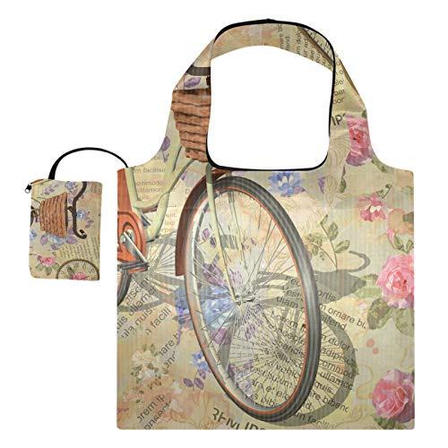 XiangHeFu Bolsas de compras reutilizables para comestibles, bolsas de compras, gran capacidad,...