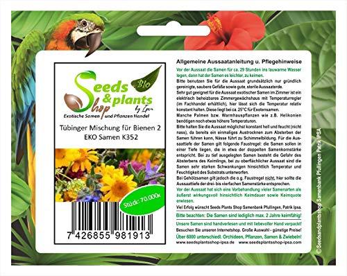 Pcs - 70000x Tübinger Mélange Pour Abeilles Eko 500m2-Samen Jardin Fleur K352 - Seeds Plants Shop Samenbank Pfullingen Patrik Ipsa