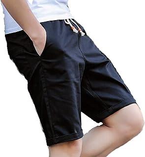[スミドレン] ハーフパンツ メンズ 短パン ショートパンツ ハーパン 半ズボン パンツ ズボン ボトム 5色(白/黒/赤/紺/カーキ) 3サイズ(M/L/XL)