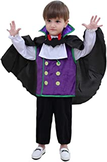 May's Baby Boys Cutie Vampire in Character Halloween Fancy Dress Costume 4pcs Set