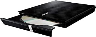 ASUS 90-DQ0435-UA161KZ SDRW-08D2S-U LITE- portable 8X DVD burner with M-DISC support for lifetime data backup, compatible ...