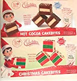 Cakebites Elf On The Shelf Cakebites 8 oz. (2 boxes included in bundle) - Hot Cocoa & Christmas cake bites Elf on the shelf cake bites
