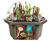 TOYS BY NATURE Venus Fly Trap - Complete Kids Terrarium Greenhouse Kit - Carnivorous Plant Grow Kit - Grow Your Own Seeds for 6 Plants That EAT Bugs
