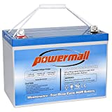 Best Agm Batteries - Powermall 12V 100AH Solar Battery Deep Cycle AGM Review