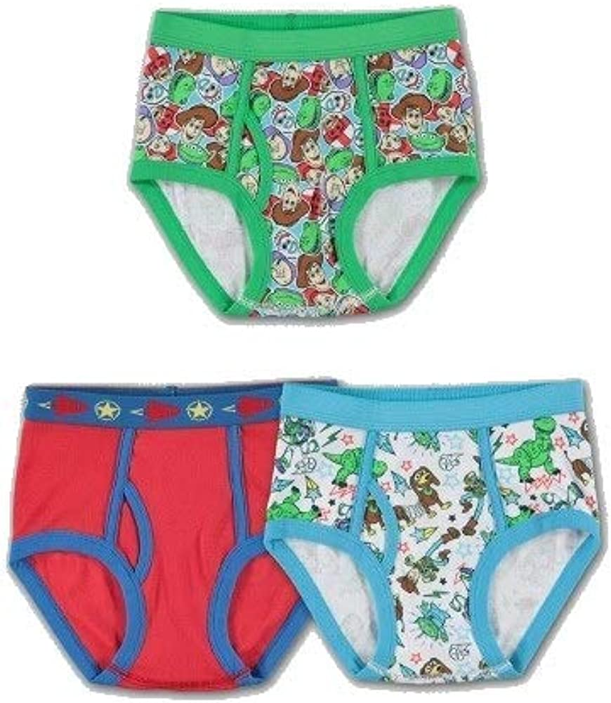 Boys Toy Story 3 Pack Briefs Size 6