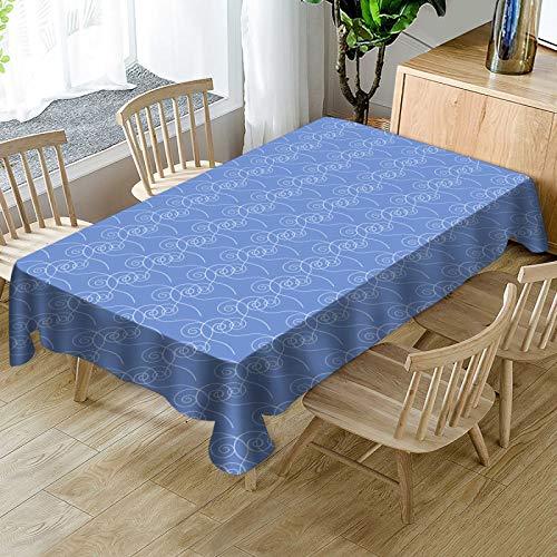 WSJIABIN Rectangular Table Cloths (140 x 180 cm)