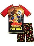 LEGO Movie Costume da Bagno per Ragazzi a Due Pezzi Nero 9-10 Anni