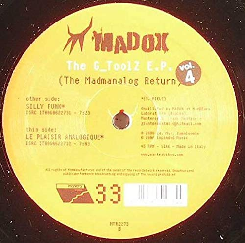 MADOX / THE G TOOLS EP (VOL 4)