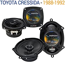 Compatible with Toyota Cressida 1988-1992 Factory Speaker Upgrade Harmony R5 R68 Package New