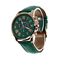 Clearance!! Sonnena Women's Faux Leather Analog Watch Quartz Wrist Watch Casual Valentine's Day Gift...