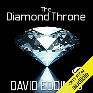 The Diamond Throne audiobook cover art