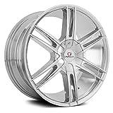 Cavallo CLV20 Custom Wheel - Chrome 20' x 8.5', 15 Offset, 5x114.3 Bolt Pattern, 74.1mm Hub