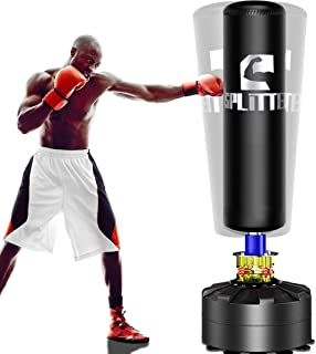 Xsport Pro Freestanding Punching Bag 69''-182lb Heavy Bag with Suction Base for Adult..