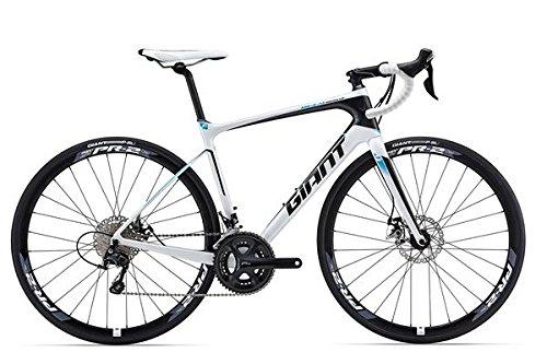 """Giant Defy Advanced 2 LTD - Bicicleta de carreras (28""""), color blanco y negro"""