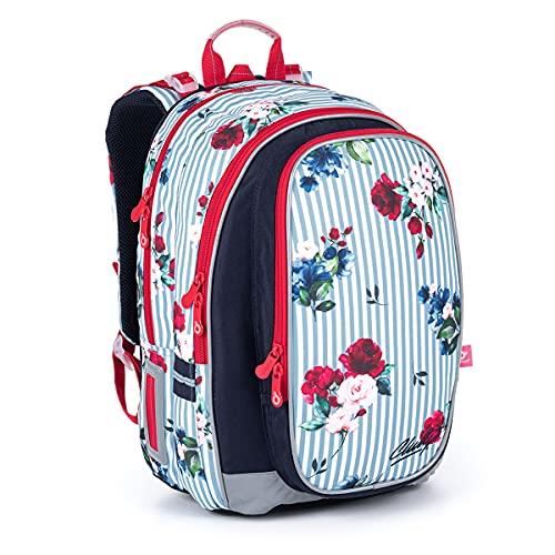 TOPGAL Zainetto per la scuola per ragazze e ragazzi 1 – 5° classi – Zaino ergonomico per la scuola per bambini – Zaino scuola con cintura sul petto.