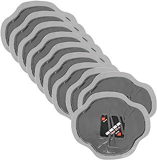 Qii lu 10 Unids 115mm Parches de Neumáticos de Coche Neumático de Caucho Natural Neumático de Reparación de Pinchazos Parche Frío Parches Sin Tubo YB-04