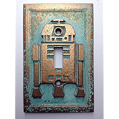 Star Wars (R2D2) Light Switch Cover (Patina)