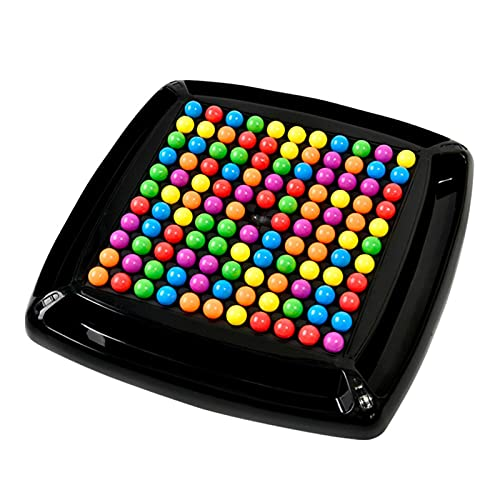 BeAteam Juego de ajedrez de arco iris interactivo Puzzle Magic Juego de ajedrez educativo juego de mesa de bala, arco iris, para adultos y niños