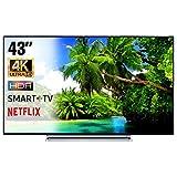 SMART TV 4K 43 Pollici Televisore Ultra HD Toshiba 43V6763DA HDR Cinema Serie Tv...