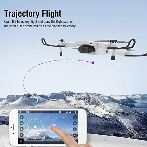 Drohne Quadcopter mit Kamera WiFi FPV Live Video Positionierungsdrohne für Anfänger RC Quadcopter Geschenk Spielzeug(4K)
