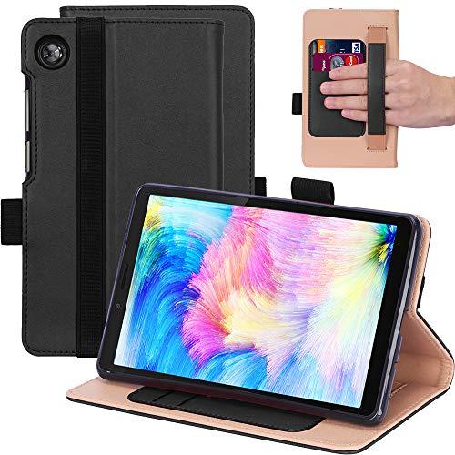 KUWEI Hulle fur Lenovo Tab M7 TB 7305F 70 PU Leder Flip Schutzhulle Ultra Dunn Superleicht Case Tasche Standerfunktion fur Lenovo Tab M7 70 Inch Tablet PC Black