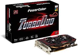 PowerColor AMD Radeon R9 280X OC 3GB GDDR5 DVI/HDMI/2Mini DisplayPort PCI-Express Graphics Card AXR9 280X 3GBD5-T2DHE/OC