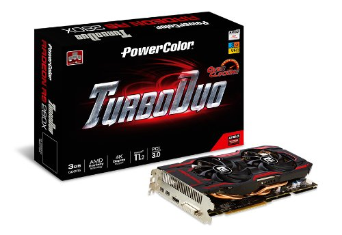 VGE AMD Radeon R9 280X 3GB Powercolor OC Turbo Duo retail