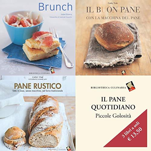 Cofanetto Il pane quotidiano: Brunch - Il buon pane - Pane rustico