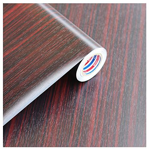 Decoratieve vinylstickers, 60 x 500 cm, graan van hout, gestructureerd, zelfklevend, liner, plakfolie, voor deuren en keuken 60x500cm 07