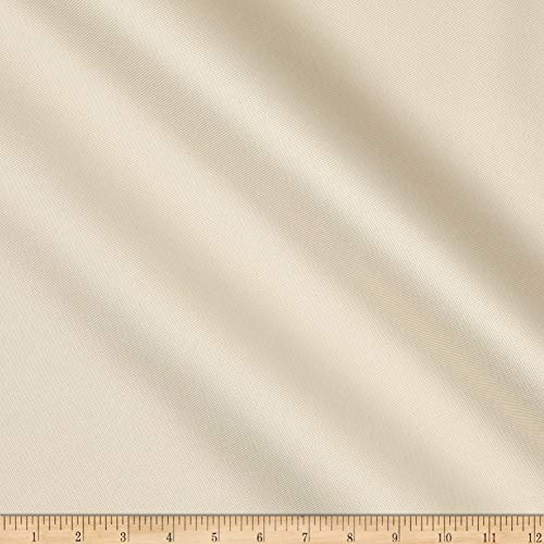 Vogue Group Waterproof Canvas Fabric, Ivory, Fabric By The Yard
