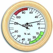 TFA sauna termómetro e higrómetro Abachi-blanco 401006