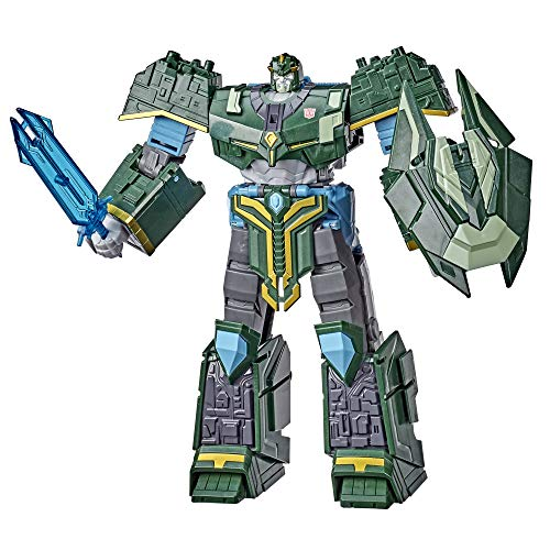 Transformers Bumblebee Cyberverse Adventures Toys Ultimate Class Iaconus Action Figure, Energon Armor, for Kids Ages 6 and Up, 9-inch