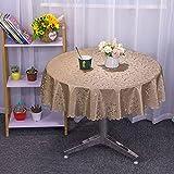 sans_marque Paño de mesa, utilizado para la cubierta de la tabla, paño de tabla rectangular impermeable, paño de mesa, paño de mesa de la cocina 120cm
