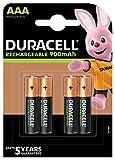 Batería de DURACELL, Stay Charged NiMH AAA 850mAh 4PK de Juego Puntos Directa