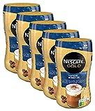 NESCAFÉ Gold Typ Cappuccino Weniger Süß, Getränkepulver aus löslichem Bohnenkaffee, koffeinhaltig, 5er...