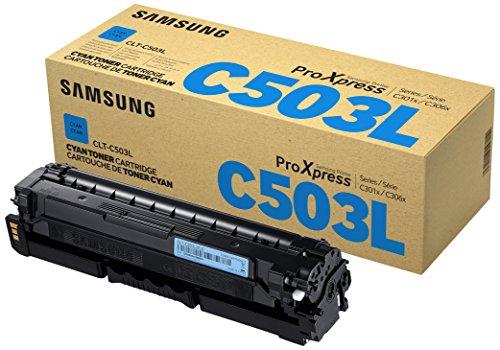 Samsung CLT-C503L/ELS Original Toner Cyan - Kompatibel mit: SL-C3010ND | C3060FR