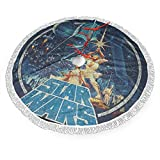 OUSSIRRO Star Wars Tree Skirt Christmas 48' Inch Xmas New Year Holiday Decorations Indoor Outdoor
