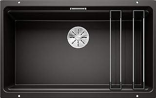 BLANCO 525891 ETAGON 700-U Küchenspüle, Schwarz