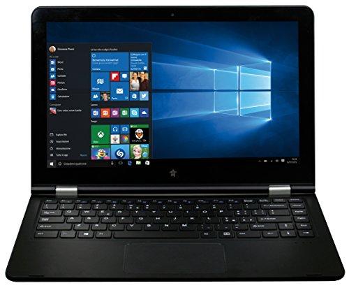 Medicom FlexBook 130, Display 13.3  IPS, 32 GB, Processore Intel Atom z8300 Quad Core 1.44 GHz